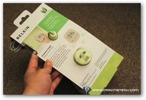 Belkin Conserve Insight Review - packaging back