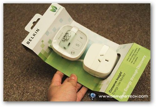 Belkin Conserve Insight Review - packaging front