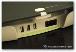 Belkin Conserve Valet Review - USB slots back