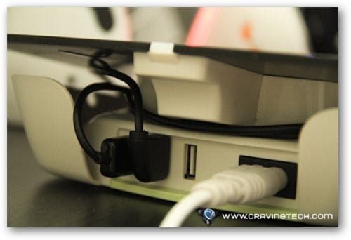 Belkin Conserve Valet Review - cable management