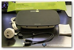 Belkin Conserve Valet Review - contents