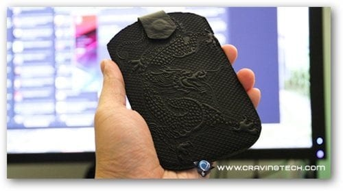 Oberon Cell Phone Sleeve Review - Cloud Dragon Black