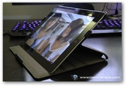 Acase iPad 2 case review angle 1