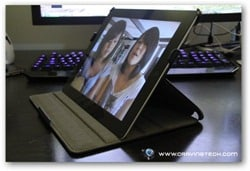 Acase iPad 2 case review angle 2