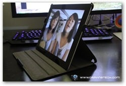 Acase iPad 2 case review angle 3