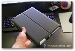 Acase iPad 2 case review - back