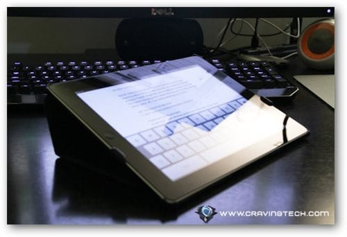 Acase iPad 2 case review typing