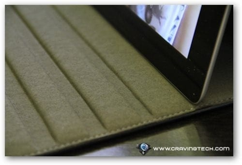 Acase iPad 2 case review viewing angle