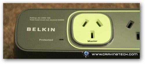 Belkin Conserve Smart Power Review - Master outlet