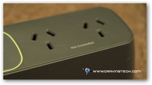 Belkin Conserve Smart Power Review - Not Controlled Outlet