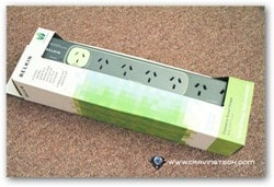 Belkin Conserve Smart Power Review - Packaging front