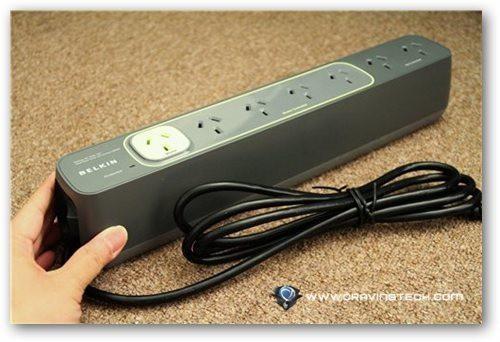 Belkin Conserve Smart Power Review - power board