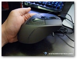 CM Storm Sentinel ZERO-G Review - mouse design