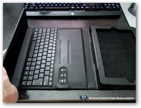 Rubata 2 Review - case with keyboard