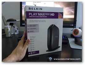 Belkin N600 HD Review