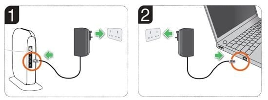 Belkin Surf PowerLine installation guide