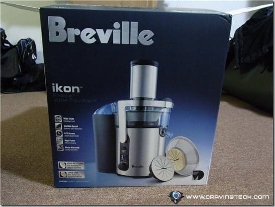 Breville ikon Froojie Review - box