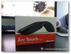Microsoft Arc Touch review - packaging closed
