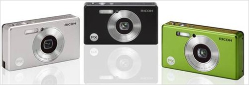 Ricoh PX waterproof camera