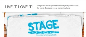 Samsung Ultimate YouTube Talent contest