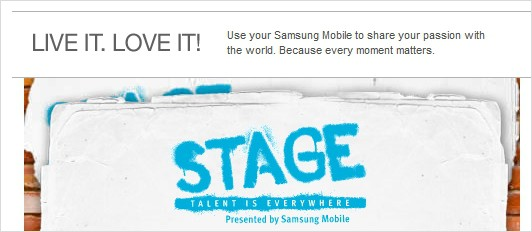 Samsung Mobile Stage