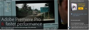 Movie editing and publishing with Adobe Premiere Pro CS5.5 and Adobe Audition CS5.5