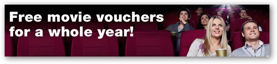 Commonwealth bank movie vouchers