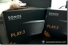 SONOS Play 3 Review - box