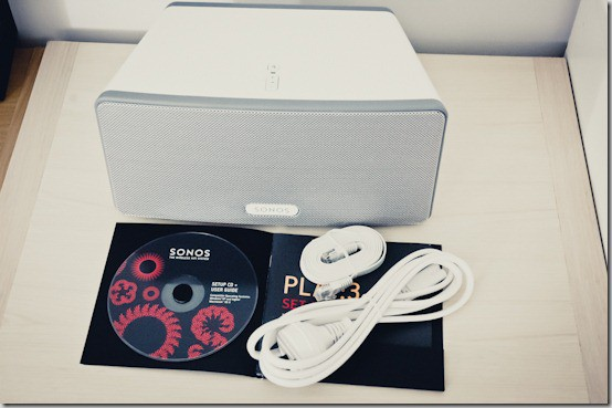 SONOS Play 3 Review - contents