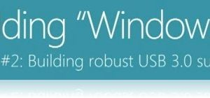 Windows 8 USB 3 support