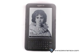 Amazon Kindle 3 Review - Front