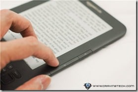 Amazon Kindle 3 Review - Right buttons