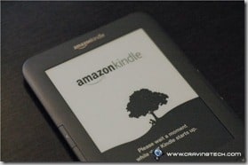 Amazon Kindle 3 Review - boot screen