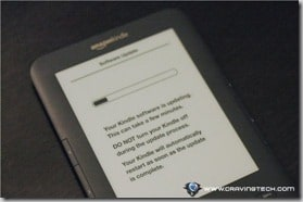 Amazon Kindle 3 Review - updating