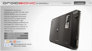 Late to the Party: the Motorola DROID BIONIC