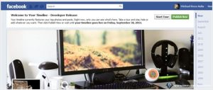 How to enable Facebook Timeline