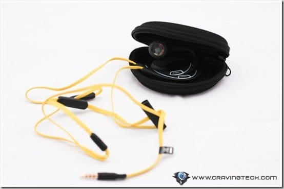 Jabra SPORT Corded Review - carry case 1