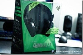 Razer Chimaera 5.1 Review - packaging front