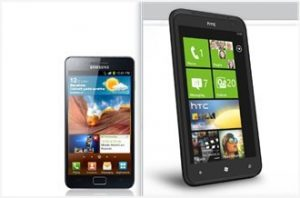 HTC Titan vs Samsung Galaxy S2