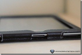 Snugg iPad 2 Case Review - charging port