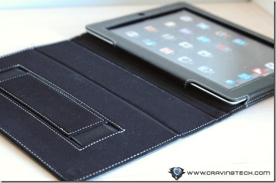 Snugg iPad 2 Case Review - hand strap