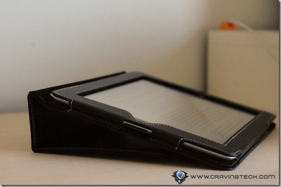 Snugg iPad 2 Case Review - typing