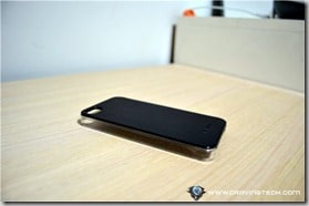 Aranez Mirage iPhone 4S Leather Case bottom view