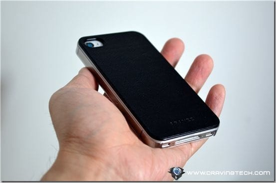 Aranez Mirage iPhone 4S Leather Case in hand back