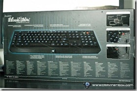 Razer BlackWidow Ultimate Stealth Edition Review - back