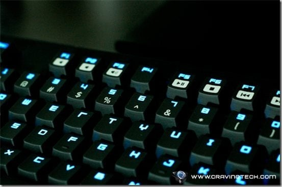 Razer BlackWidow Ultimate Stealth Edition Review - backlighting