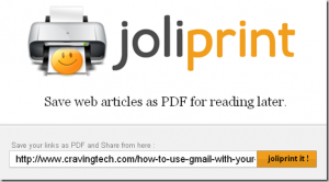 How to create clutter-free PDF files from webpages