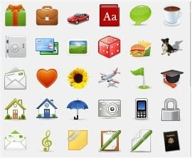 mSecure icons