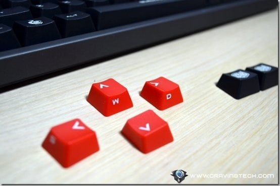 CM Storm Quick Fire Rapid replaceable key caps