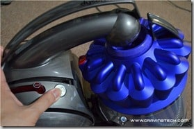 Dyson DC39 open canister